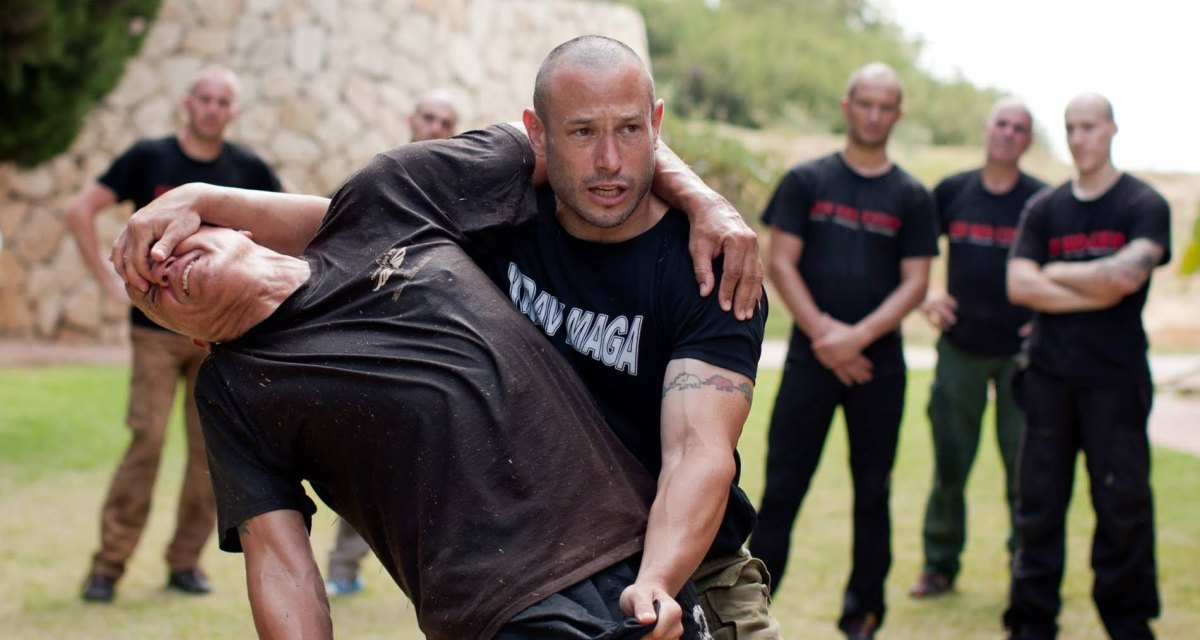 Belligerent Krav Maga master refuses to stop grabbing groins