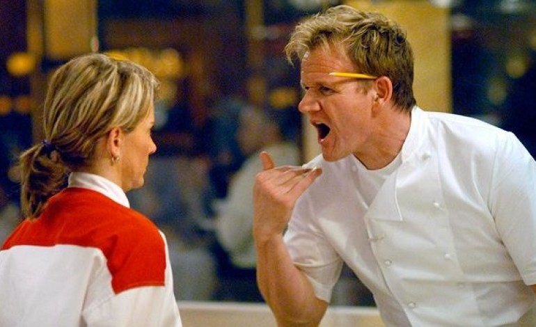 gordon ramsay shouting